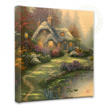 Everett's Cottage Canvas Wrap 14x14