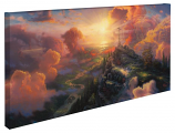 The Cross Panoramic Canvas Wrap