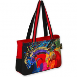 Wild Horses of Fire Medium Tote