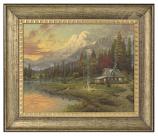 Evening Majesty Brushstroke Vignette (Framed Choices)
