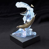 Dolphin Waters Sculpture