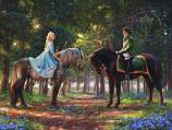 Romance Awakens Cinderella Painting