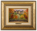 Biltmore in the Fall Brushwork (Frame Choices)
