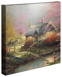 Stepping Stone Cottage Canvas Wrap 14x14