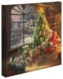 """Santa's Special Delivery 14""""x14"""" Canvas Wrap"""