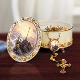 Sunrise Music Box and Rosary