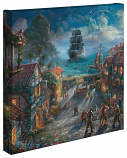 Pirates of the Caribbean Canvas Wrap