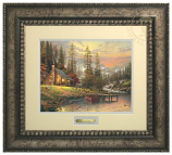 A Peaceful Retreat Prestige Home Art (Frame Choices)