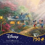 Mickey and Minnie Sweetheart Bridge Puzzle