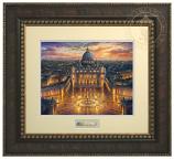 Vatican Sunset Prestige Home Art (Frame Choices)