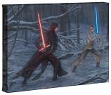"""The Duel: Rey vs. Ren 10""""x14"""" Gallery Wrap"""