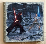 The Duel: Rey vs. Ren  Metal Art Box