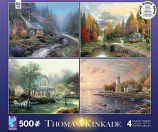 Thomas Kinkade 4 in 1 Puzzle