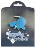 Spouty Whale Pin
