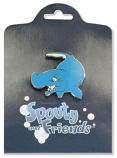 Spouty Whale Pin