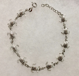 Sea Turtle Sterling Silver Bracelet