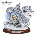 Crystal Sledding Snowman