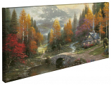 The Valley of Peace Panoramic Canvas Wrap