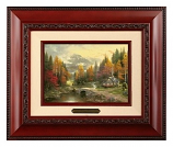 The Valley of Peace Framed Brushwork (Frame Choices)