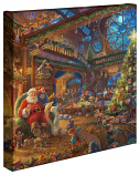 Santa's Workshop Canvas Wrap