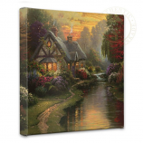 A Quiet Evening Canvas Wrap 14x14