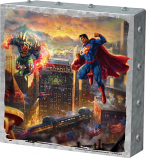 Superman Man of Steel Metal Art Box