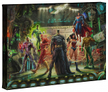 The Justice League Canvas Wrap