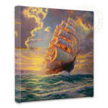 Courageous Voyage Canvas Wrap