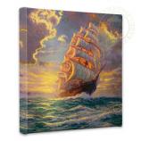 Courageous Voyage Canvas Wrap