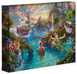 "Peter Pan's Never Land 8""x10"" Gallery Wrap"