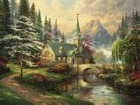 Dogwood Chapel Painting