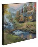 """Mountain Paradise 20""""x20"""" Gallery Wrap"""