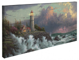 Conquering the Storms Panoramic Canvas Wrap