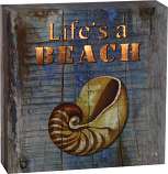 Life's a Beach Art Box
