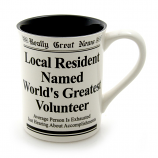 World's Greatest Volunteer Mug