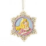 Princess Aurora Snowflake Ornament