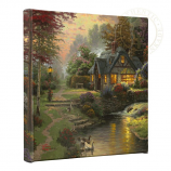 Stillwater Cottage Canvas Wrap 14x14