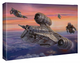 "The Escort 10""x14"" Gallery Wrap"