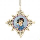 Princess Snow White Snowflake Ornament