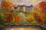 Biltmore in the Fall Painting