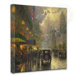 New York, Fifth Avenue Canvas Wrap 14x14