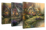 Cottage Canvas Wraps - Set of 3