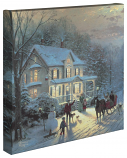 """Home For The Holidays 14""""x14"""" Canvas Wrap"""