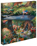 Alice in Wonderland Canvas Wrap