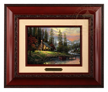 A Peaceful Retreat Brushwork - Three Frame Choices
