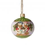 Donald & Daisy Duck Ball Ornament