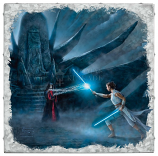Rey's Awakening Metal Art Box