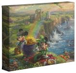 """Mickey & Minnie In Ireland 8""""x10"""" Gallery Wrap"""