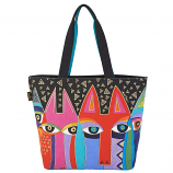 Tribal Cats Large Bag