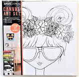 Sunglass Girl Canvas Paint Kit